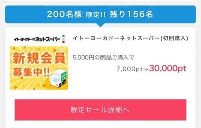 イトーヨーカドーネットスーパー 再安5000円が2000円に♪ネズ吉捕獲に良いかもしれません!