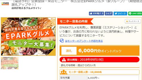 ファンくる 外食モニター6000円還元!!とにかく急いで!!!!