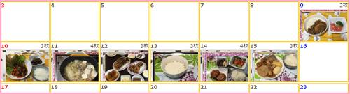 リア食 1週目の獲得ポイントは120ポイントでした!