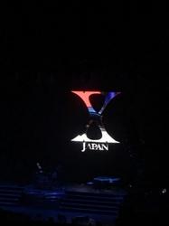 X JAPAN 大阪城ホールに行ってきました!!