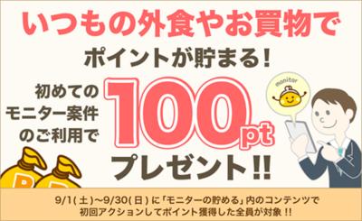 ちょびリッチ はじめてのモニターで50円もらえます!