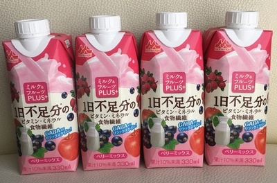 【95%還元】ポイントサイトでも登場! ミルク&フルーツPLUS+モニター 4本が33円で購入できます