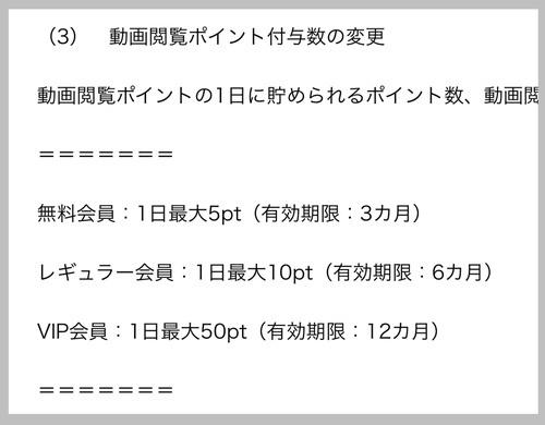ウソやん?!タッチモールまさかの1日50pt→5pt(゚д゚lll)