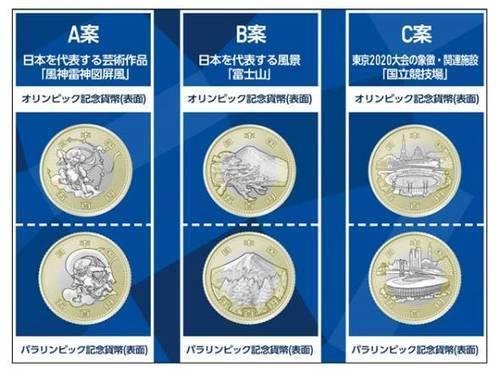 【Twitter投票】2020東京オリンピックパラリンピック記念硬貨の図案を国民投票で決めるって!(~6/24)