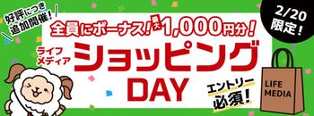 auPAYマーケットまだ購入していない方はライフメディアで1000円当たるかも!?