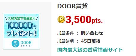 月イチ利用OKの物件問い合わせの神案件!ECナビから350円で出てます!